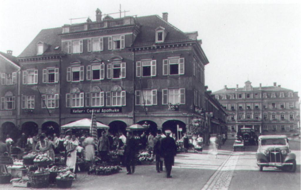 Zentral-Apotheke Ludwigsburg - Geschichte